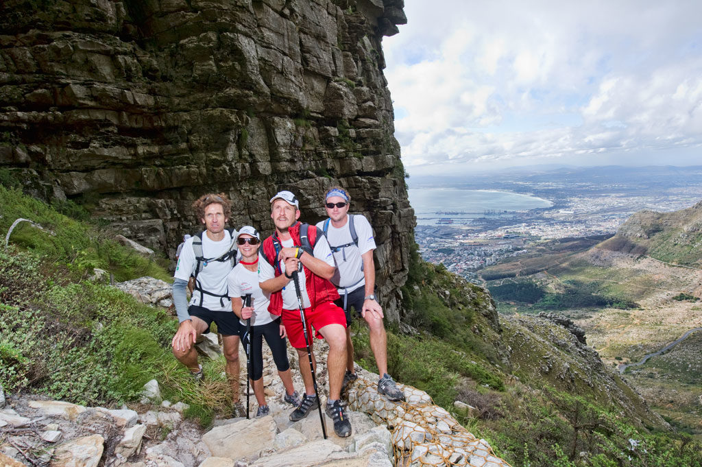 Fast hike up Table Mountain