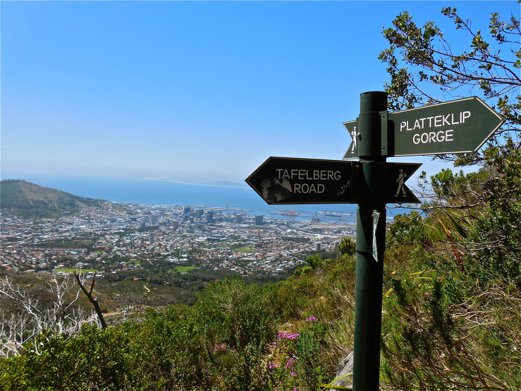 Fastest way up Table Mountain