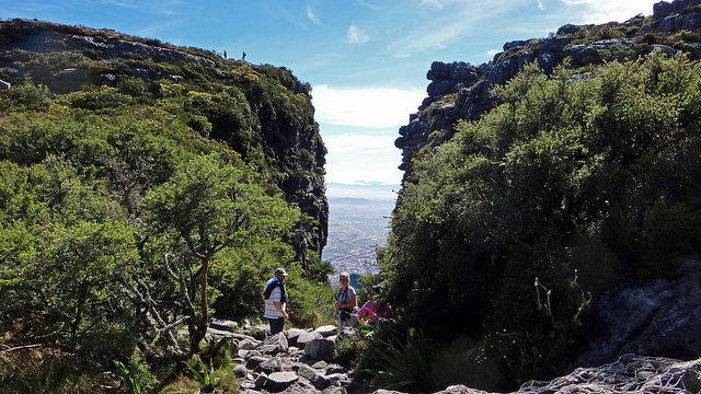 Quickest hike up Table Mountain hike