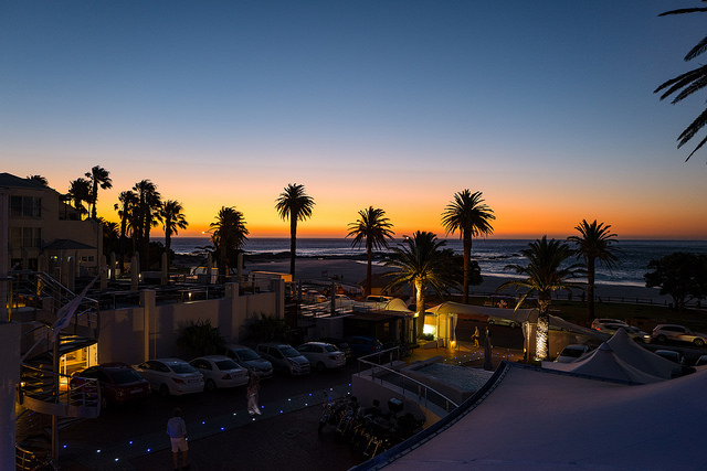 Cape Town Camps Bay Sunset