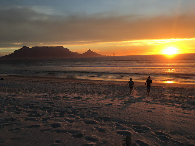 Sunset Cape Town South Africa
